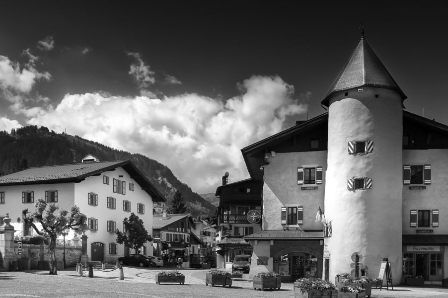 Place du village Megève