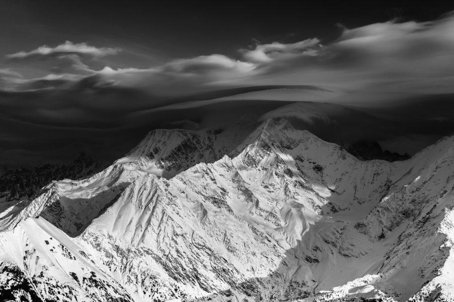 Lenticularis Mont Blanc
