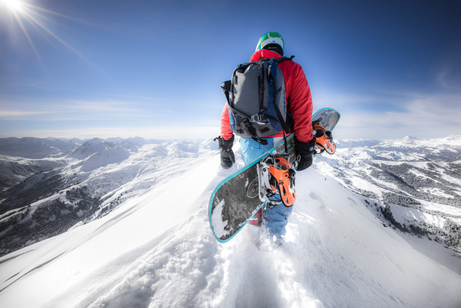 Snowboard Megève
