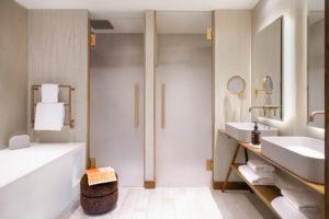 Immobilier Megève salle de bain
